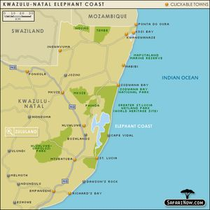 Elephant Coast Map
