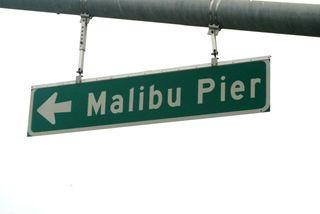 Malibu pier